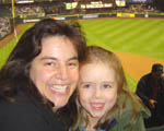 Mom, Maddy Safeco Field