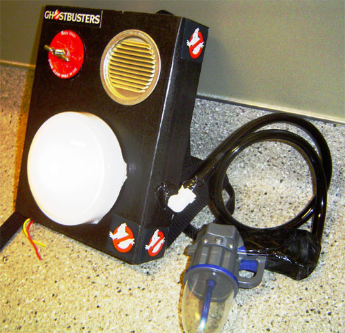 Ghostbusters Proton Pack 01