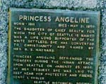 Princess Angeline Grave
