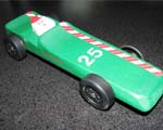 Dasher Pinewood Derby